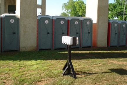 portable toilets and hand wash station rental Tuscaloosa, AL