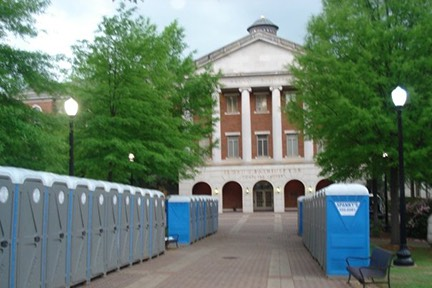 portable toilets for school and campus events Tuscaloosa, AL