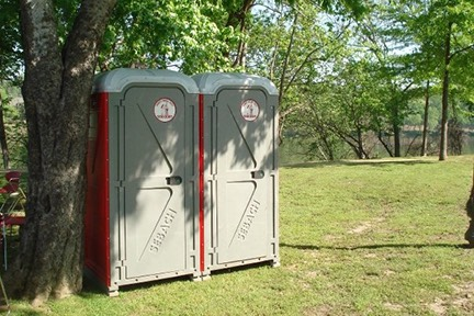 On site portable restroom rental Tuscaloosa, AL